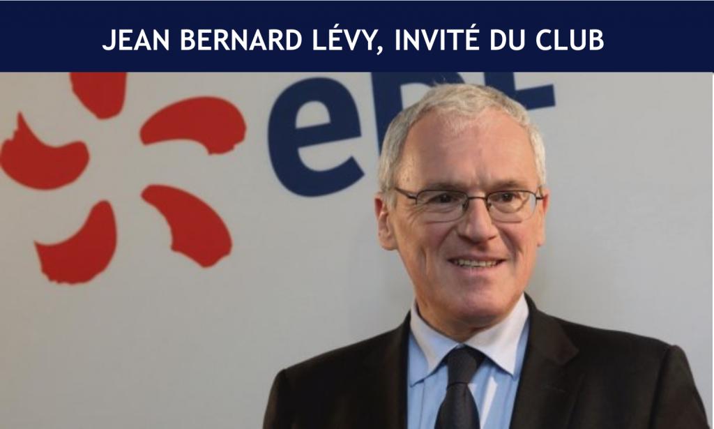 JB Lévy invité du Club