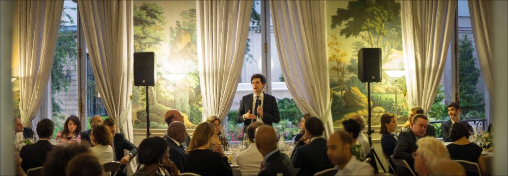 Diner du Club 21 Siecle, Caisse de Depots et de Consignation,Paris