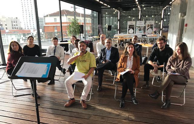 Les entrepreneurs du concours Talents des Cités étaient réunis pour un atelier de coaching en pitch