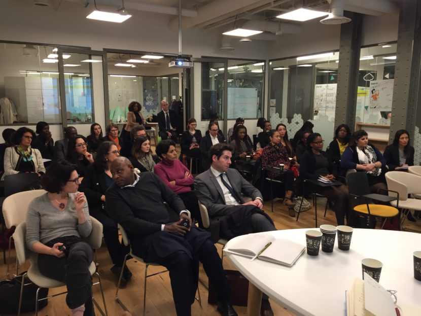Lancement de la troisième édition Revel@Her a réuni une quarantaine de participants à BNP Paribas. Rencontre entre les mentors et les mentees.